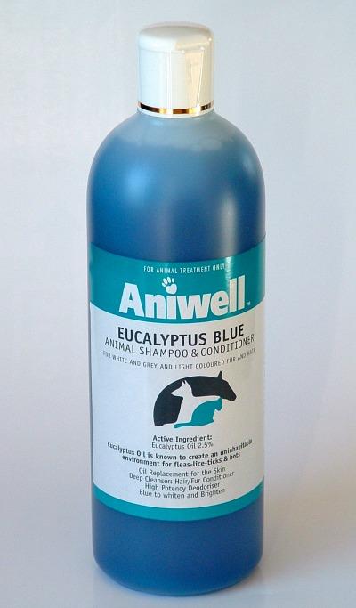 Eucalyptus Blue Shampoo Aniwell